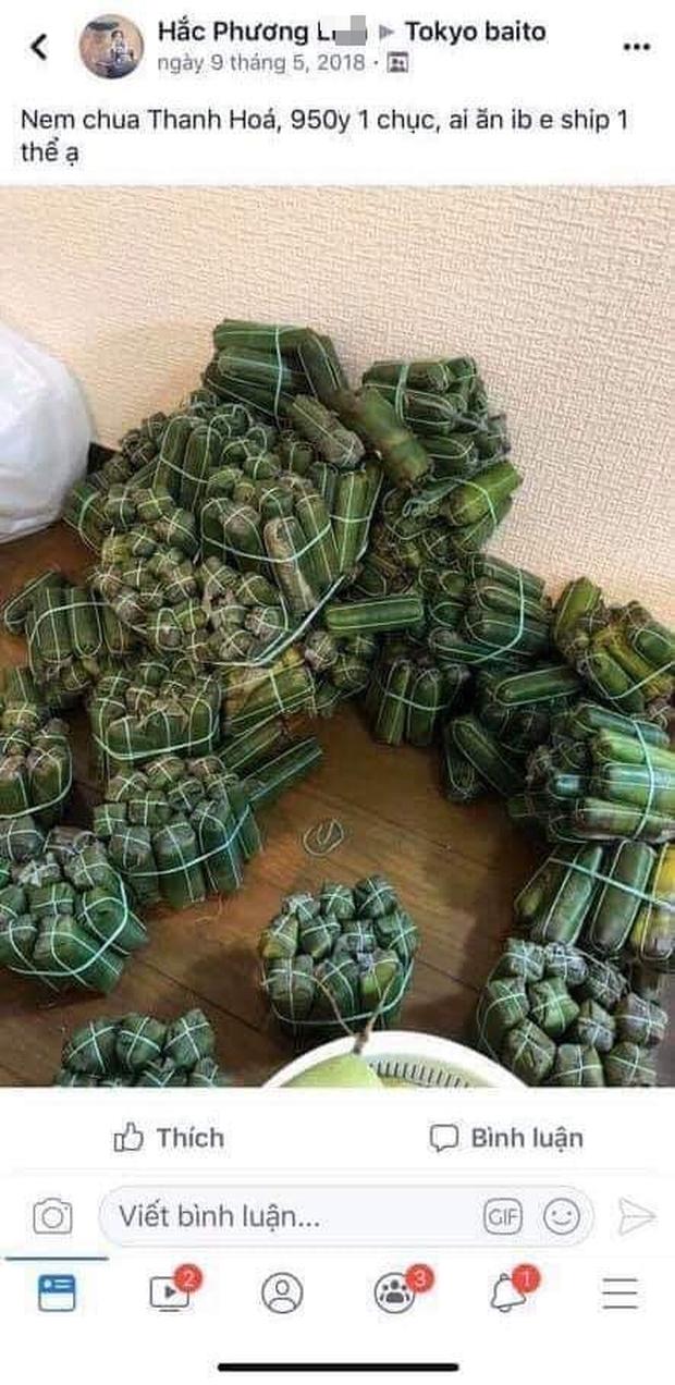 Nữ du học sinh Việt bị bắt vì mang 360 quả trứng vịt lộn và 10kg nem chua vào Nhật: Từng rao bán nem chua với giá gần 200k/10 cái? - Ảnh 2.