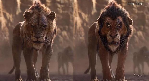 The Lion King bị chê tạo hình không giống bản gốc, người hâm mộ gửi ngay sáng kiến cực mặn - Ảnh 11.