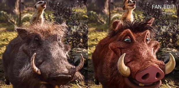 The Lion King bị chê tạo hình không giống bản gốc, người hâm mộ gửi ngay sáng kiến cực mặn - Ảnh 12.