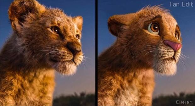 The Lion King bị chê tạo hình không giống bản gốc, người hâm mộ gửi ngay sáng kiến cực mặn - Ảnh 6.