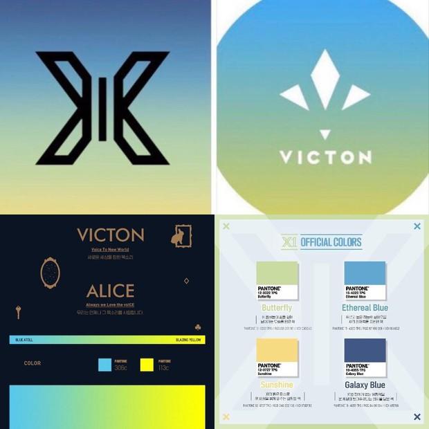 X1 lại vướng thị phi vì chuyện màu sắc đại diện, cả I.O.I, Wanna One đang yên cũng bị lôi vào - Ảnh 2.