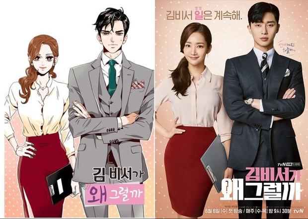 Trào lưu phim Hàn chuyển thể từ webtoon: Người thắng thế, kẻ thất bại - Ảnh 2.