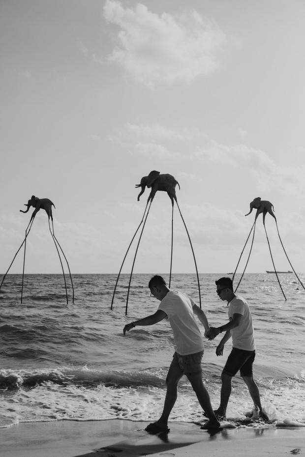 """Sau """"Người ấy là ai"""", Đức Hiền và Sơn Tùng bên nhau tình tứ trong chuyến kỷ niệm đặc biệt tại Phú Quốc - Ảnh 6."""