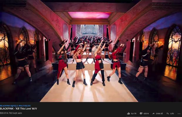 BLACKPINK tiếp tục lập kỉ lục ở mảng idolgroup, bám sát thành tích hiếm có khó tìm của BTS trên YouTube - Ảnh 1.