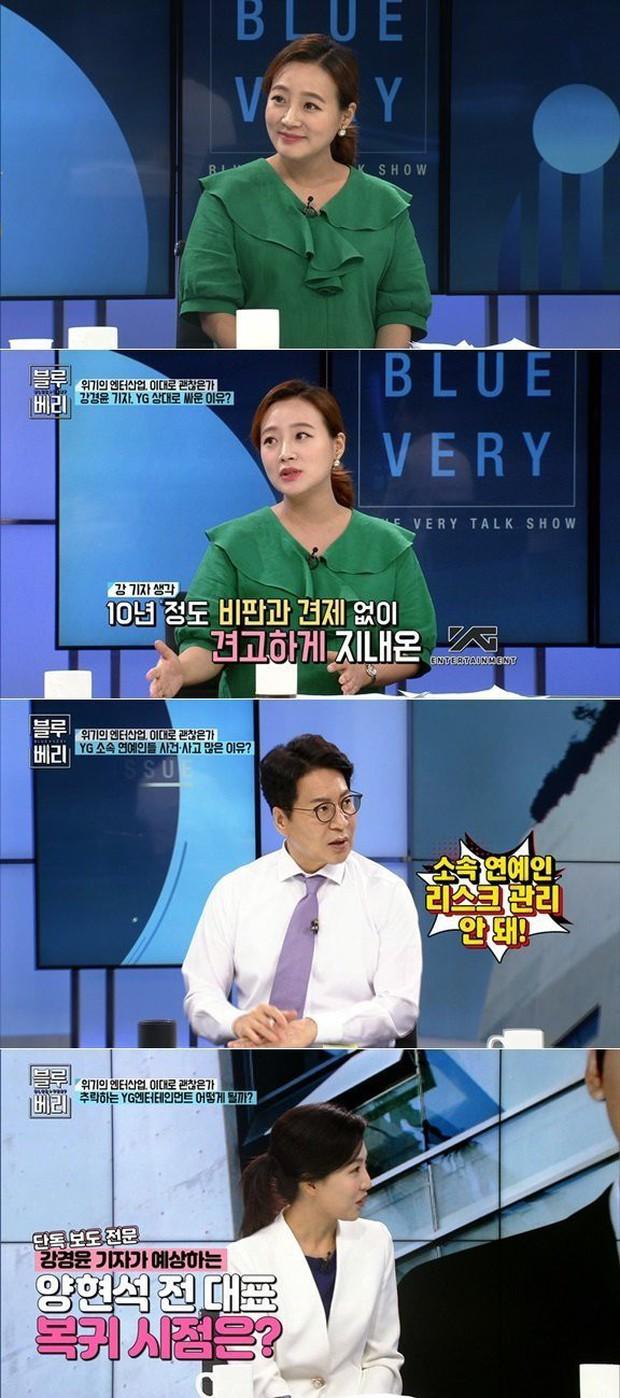Nữ phóng viên điều tra vụ bê bối Burning Sun dự đoán Yang Hyun Suk sẽ trở lại điều hành YG - Ảnh 2.