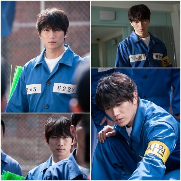 Doctor John: Mỹ nam đa nhân cách Ji Sung ở tù mà như ông chủ, dọa y tá mất hồn để tự do khoe múi - Ảnh 1.