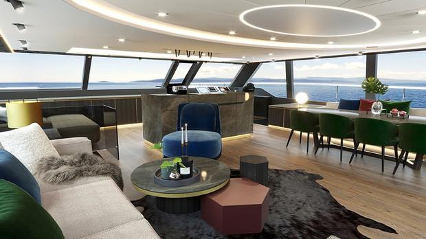 Nadal tậu siêu du thuyền mới: Trầm trồ khám phá khách sạn 5 sao trên biển - Ảnh 6.