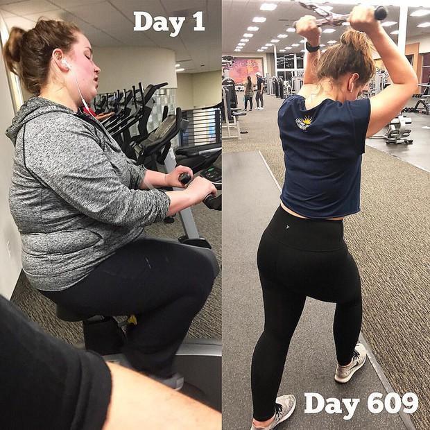 Ăn nhiều hơn trước nhưng cô gái này vẫn giảm được gần 59kg sau 18 tháng - Ảnh 8.