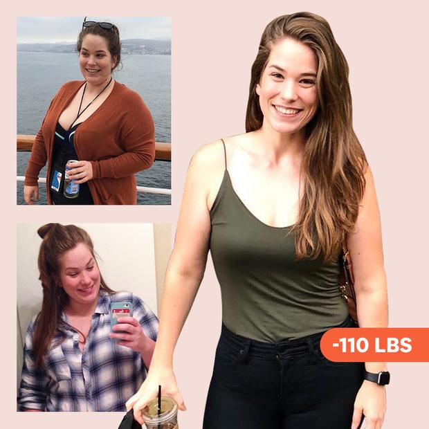Ăn nhiều hơn trước nhưng cô gái này vẫn giảm được gần 59kg sau 18 tháng - Ảnh 1.