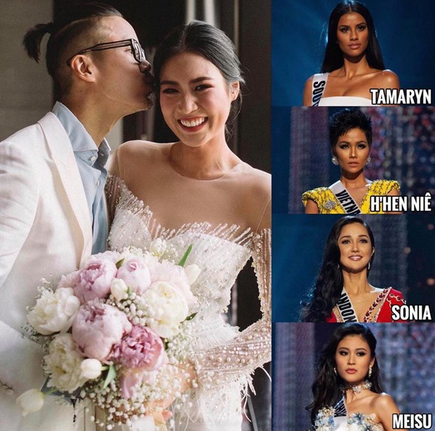 Fan cứng HHen Niê quyết không bỏ quên show của Sơn Tùng M-TP dù đang làm phụ dâu cho Hoa hậu Hoàn Vũ Thái Lan - Ảnh 1.