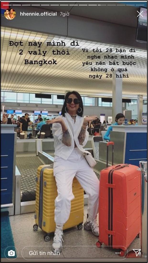 Fan cứng HHen Niê quyết không bỏ quên show của Sơn Tùng M-TP dù đang làm phụ dâu cho Hoa hậu Hoàn Vũ Thái Lan - Ảnh 4.