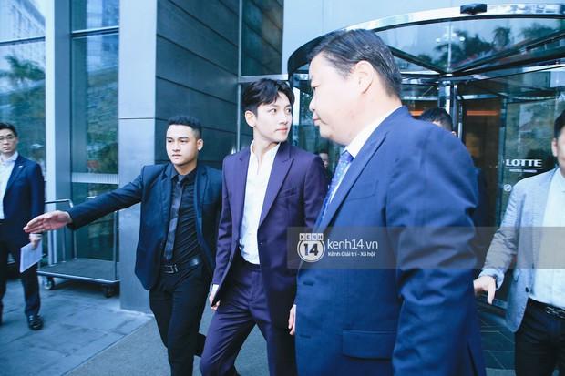 Độc quyền: Tài tử Ji Chang Wook diện vest điển trai như tổng tài, khí chất ngút ngàn tại khách sạn trước sự kiện ở Hà Nội - Ảnh 7.