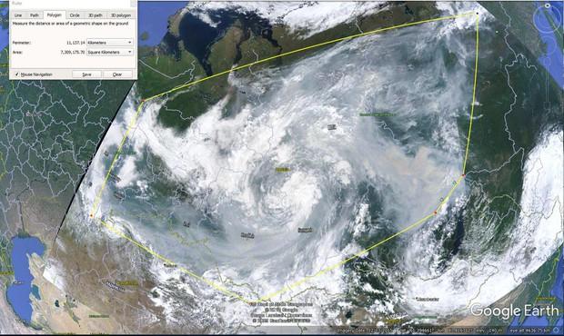 Khó tin nhưng có thực: Bắc Cực đang bốc cháy cực mạnh, và đám cháy ấy lớn đến mức nhìn thấy được từ ngoài vũ trụ - Ảnh 3.