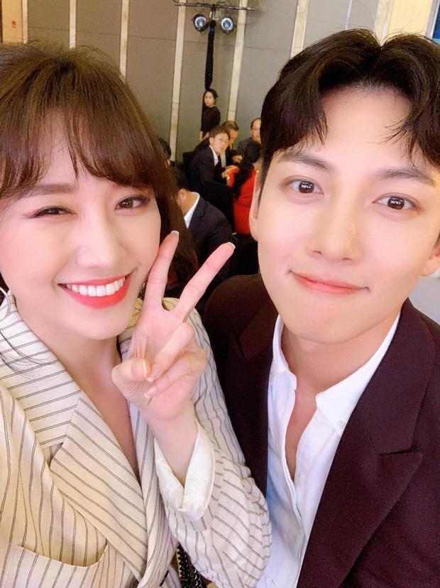 Hari Won đăng ảnh selfie cận mặt Ji Chang Wook, vẻ đẹp cực phẩm của nam tài tử xứ kim chi được phô diễn trọn vẹn - Ảnh 1.