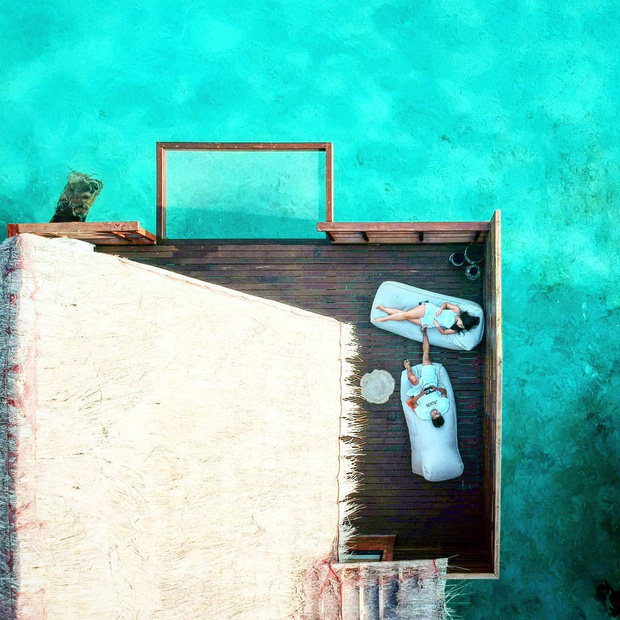 Góc ngược đời: Ngày xưa thì tranh nhau ở resort 5 sao nhưng giờ ai đi Maldives cũng đòi... ra giữa biển ngủ!  - Ảnh 10.