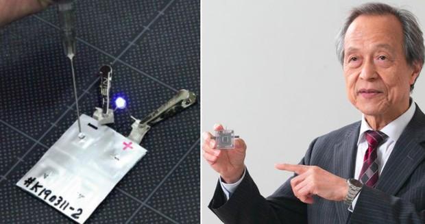Vị giáo sư Nhật Bản thắp sáng đèn led trong nhiều giờ chỉ bằng… nước tiểu - Ảnh 2.