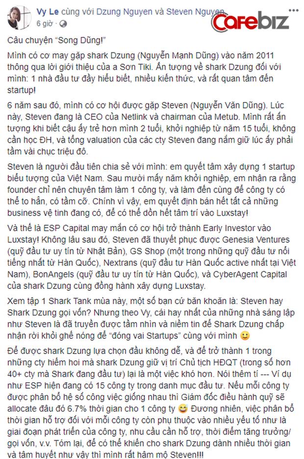 Nghi vấn dàn cá mập là chỗ thân quen với startup vừa nhận được deal 6 triệu USD Luxstay: Lộ hình ảnh Shark Hưng, Shark Việt cùng Shark Dzung trong sự kiện của Luxstay năm ngoái - Ảnh 4.