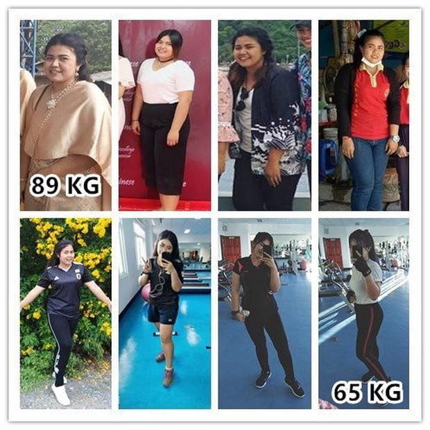 Từ 89kg xuống 65kg, nàng béo Thái Lan có bí quyết gì mà giảm cân nhanh như chớp đến vậy? - Ảnh 7.