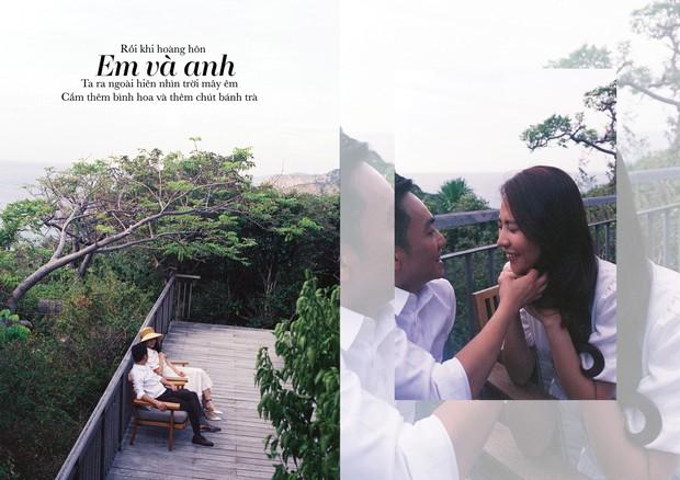 Tan chảy trước bộ ảnh cưới cuối cùng lãng mạn chẳng kém phim ngôn tình của Đàm Thu Trang và Cường Đô La - Ảnh 10.