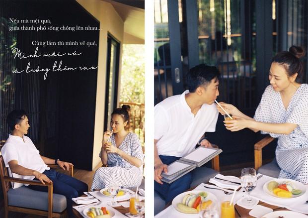 Tan chảy trước bộ ảnh cưới cuối cùng lãng mạn chẳng kém phim ngôn tình của Đàm Thu Trang và Cường Đô La - Ảnh 3.