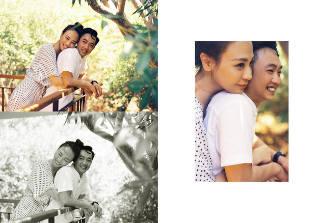 Tan chảy trước bộ ảnh cưới cuối cùng lãng mạn chẳng kém phim ngôn tình của Đàm Thu Trang và Cường Đô La - Ảnh 1.