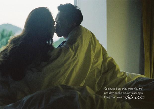Tan chảy trước bộ ảnh cưới cuối cùng lãng mạn chẳng kém phim ngôn tình của Đàm Thu Trang và Cường Đô La - Ảnh 4.