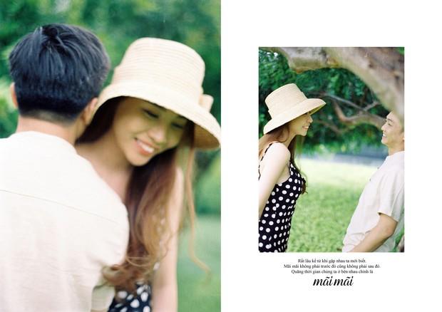 Tan chảy trước bộ ảnh cưới cuối cùng lãng mạn chẳng kém phim ngôn tình của Đàm Thu Trang và Cường Đô La - Ảnh 8.