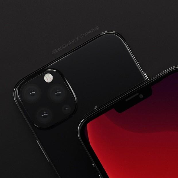 Ngắm concept iPhone 12 đẹp lung linh với tai thỏ nhỏ gọn hơn, mặt lưng hàng khủng với 4 camera - Ảnh 1.