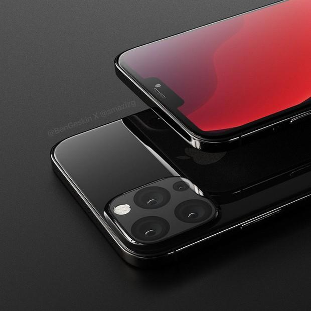 Ngắm concept iPhone 12 đẹp lung linh với tai thỏ nhỏ gọn hơn, mặt lưng hàng khủng với 4 camera - Ảnh 2.