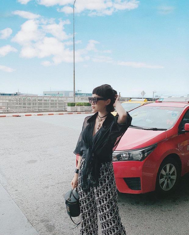 Street style hot mom: Meo Meo diện trend bút nhớ dòng, chị dâu Bảo Thy khoe dáng nuột dù mới sinh không lâu - Ảnh 4.