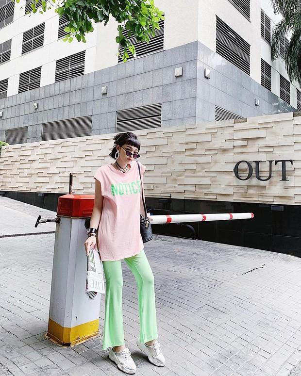 Street style hot mom: Meo Meo diện trend bút nhớ dòng, chị dâu Bảo Thy khoe dáng nuột dù mới sinh không lâu - Ảnh 5.