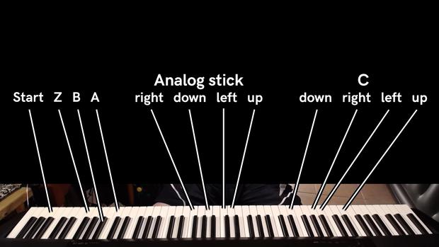 Phá đảo thế giới ảo: Chơi game bằng piano, vừa đánh đàn vừa bắn mà vẫn ra được bản nhạc hay tuyệt đỉnh - Ảnh 1.