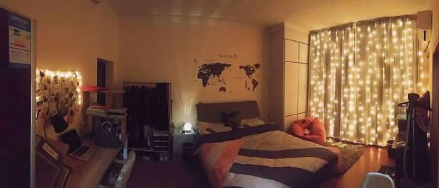 Hụt hẫng khi thấy phòng trọ lộn xộn như ổ chuột, nữ sinh 18 tuổi cải tạo thành không gian sống ấm áp xinh đẹp - Ảnh 3.
