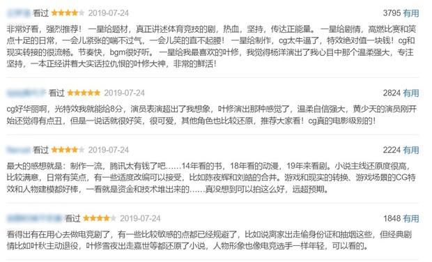 """Bị fan nguyên tác dọa tẩy chay, Toàn Chức Cao Thủ của Dương Dương vẫn được chấm điểm """"ngon lành"""" - Ảnh 4."""