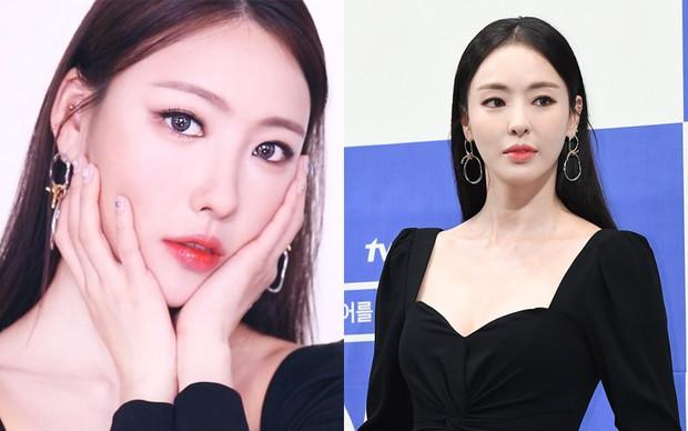 IU có nằm mơ cũng không ngờ có người chỉ nhờ makeup mà cũng thành chị em sinh đôi của mình - Ảnh 6.
