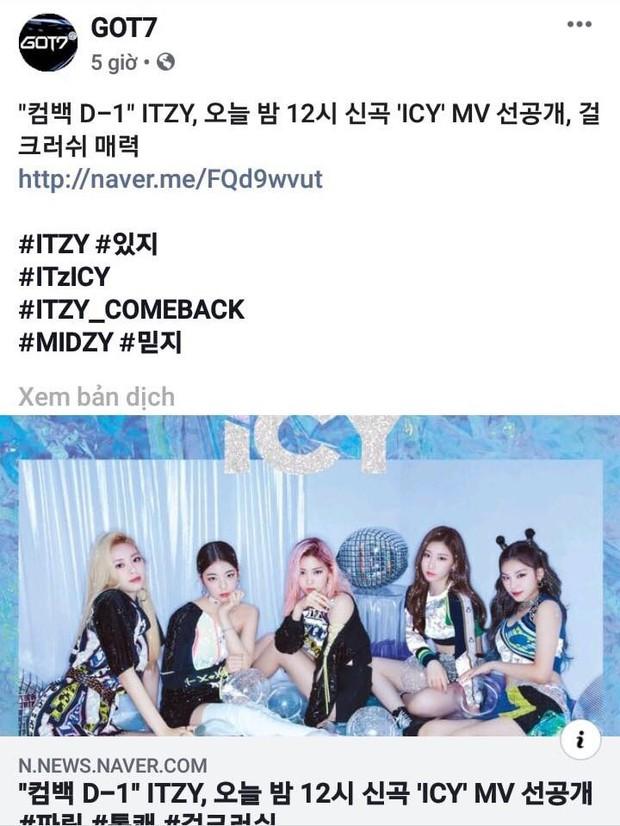 Netizen phẫn nộ trước thềm comeback của ITZY: JYP dùng tài khoản GOT7 quảng bá cho tân binh - Ảnh 1.