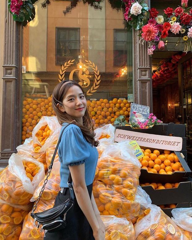 Lisa và Jisoo đăng hình xinh xẻo ở Thuỵ Điển, nhìn background tưởng cửa hàng trái cây nhưng hoá ra lại bán thứ này - Ảnh 6.