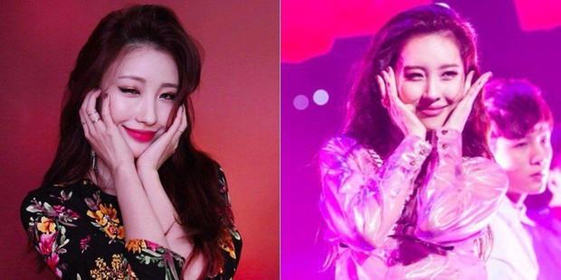IU có nằm mơ cũng không ngờ có người chỉ nhờ makeup mà cũng thành chị em sinh đôi của mình - Ảnh 4.