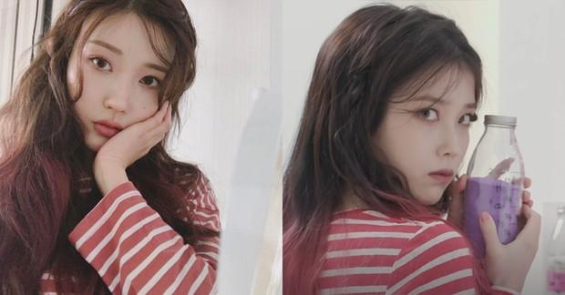 IU có nằm mơ cũng không ngờ có người chỉ nhờ makeup mà cũng thành chị em sinh đôi của mình - Ảnh 3.