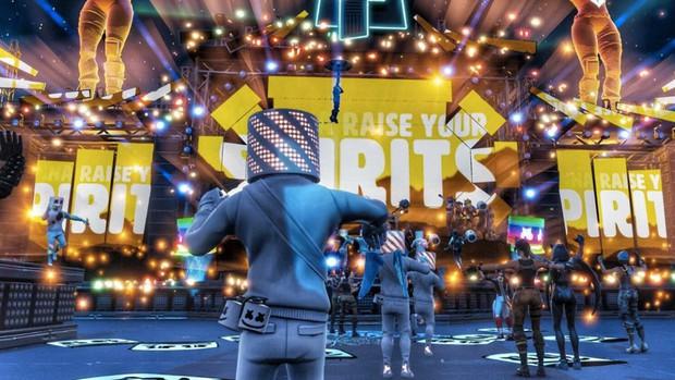 """DJ """"kẹo dẻo"""" Marshmello cùng Tyler Ninja Blevins sẽ đốt cháy ngày hội Chung kết Fortnite thế giới hôm nay! - Ảnh 2."""