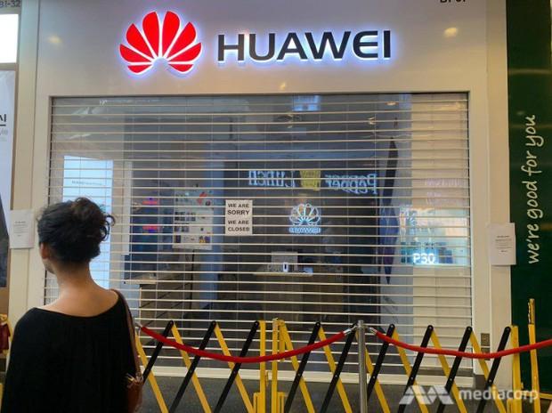 Háo hức xếp hàng dài chờ mua điện thoại Huawei giá rẻ, người dân Singapore giận dữ ra về tay trắng - Ảnh 2.