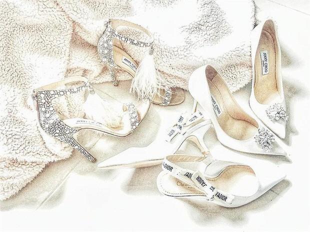 HHen Niê tái sử dụng đôi hài Lọ lem 120 triệu trong đám cưới Hoa hậu Thái Lan - Ảnh 7.