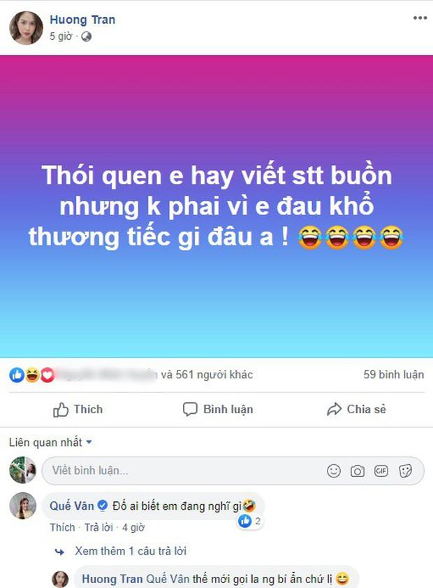 Vợ cũ Việt Anh khẳng định không đau khổ và thương tiếc dù viết nhiều status tâm trạng hậu ly hôn - Ảnh 1.