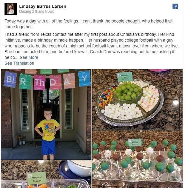 Sinh nhật chỉ có 1/25 bạn cùng lớp tới dự, cậu bé tự kỷ nhận được quà bất ngờ - Ảnh 2.