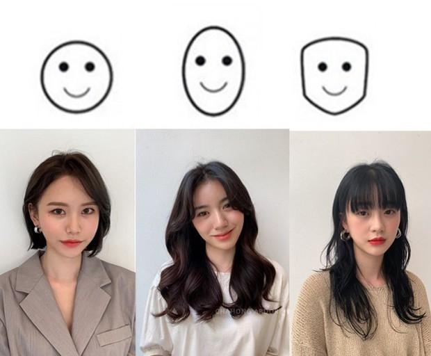 Gợi ý chọn đúng kiểu tóc phù hợp cho khuôn mặt tròn, góc cạnh hay thon dài - Ảnh 1.