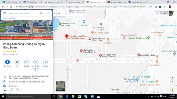 Xuất hiện đường 10 làn xe mang tên Ngô Minh Dương trên Google Maps - Ảnh 3.