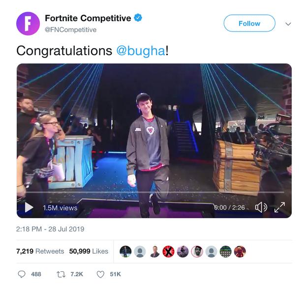 Không thể tin nổi: Game thủ 16 tuổi vô địch Fortnite World Cup Solo, nhận thưởng 70 tỷ đồng - Ảnh 2.