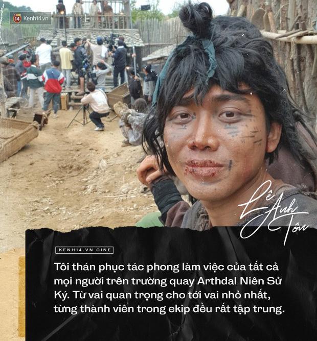 Phỏng vấn đặc biệt diễn viên người Việt góp mặt Arthdal: Choáng với nhan sắc Song Joong Ki, chỉ ngủ 2 tiếng trong 4 ngày quay - Ảnh 2.