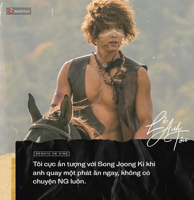 Phỏng vấn đặc biệt diễn viên người Việt góp mặt Arthdal: Choáng với nhan sắc Song Joong Ki, chỉ ngủ 2 tiếng trong 4 ngày quay - Ảnh 6.