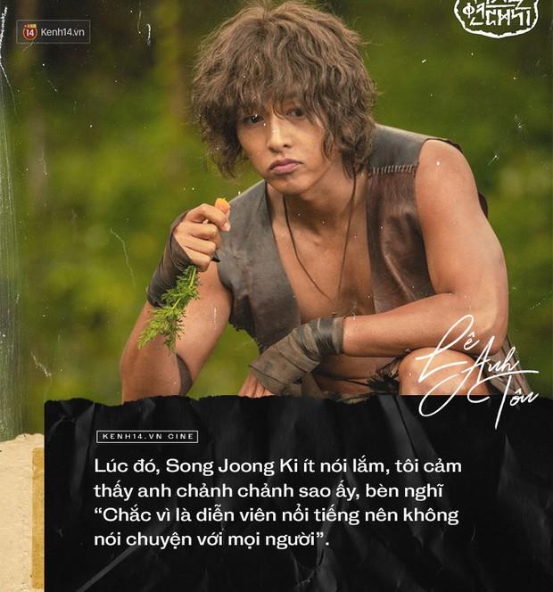 Phỏng vấn đặc biệt diễn viên người Việt góp mặt Arthdal: Choáng với nhan sắc Song Joong Ki, chỉ ngủ 2 tiếng trong 4 ngày quay - Ảnh 5.